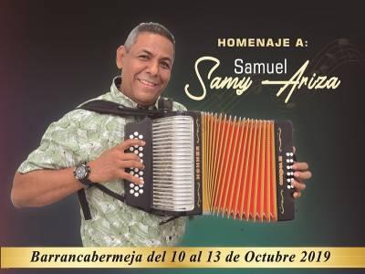 Afiche promocional Festival de Acordeones del Río Grande de la Magdalena 2019