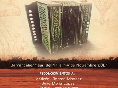 Circula el afiche promocional del 35º Festival de Acordeones del Río Grande de la Magdalena