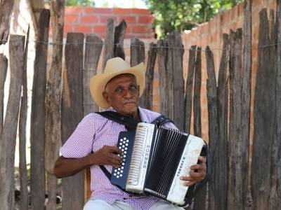 88 años del negro Duràn, al que llaman Naferito