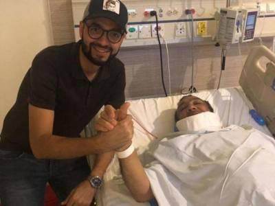 En recuperación se encuentra Beto Zabaleta